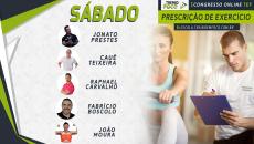 1º Congresso Online TEF - Prescrição de Exercício - Sábado