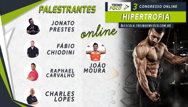 3º Congresso Online TEF - HIPERTROFIA