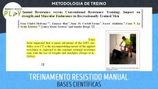 Treinamento Resistido Manual - Bases Científicas
