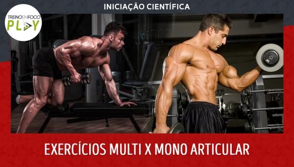 Iniciação Científica - Exercícios Multi versus Mono Articulares
