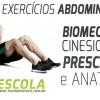 Biomecânica Cinesiologia e Prescrição Exercícios Abdominais