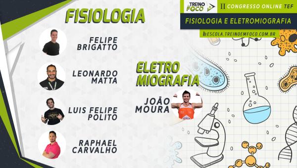 2º Congresso Online TEF - Fisiologia do Exercício e Eletromiografia