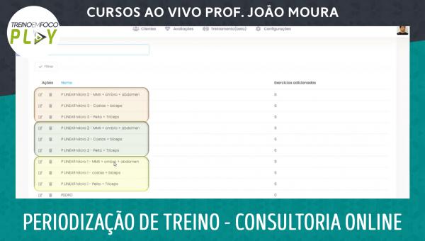 Periodização de Treino para Consultoria Online